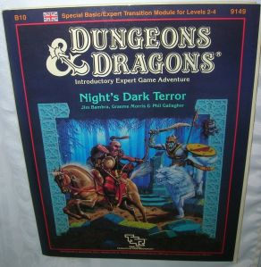 Nights dark terror D&D
