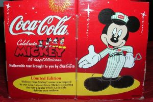 mickey mouse limited edition coke